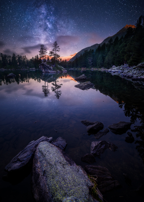 """Night in the Mirror"" by Fabio Antenore"