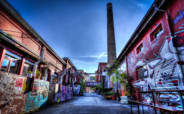 Red factory - Rote Fabrik