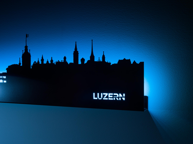 led skyline wandleuchte luzern. Black Bedroom Furniture Sets. Home Design Ideas